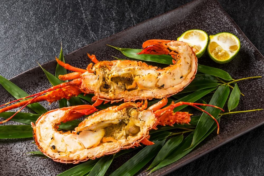 Homard grill aux pices ravito gourmet - Accompagnement homard grille ...